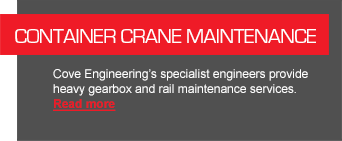 Container Crane Maintenance