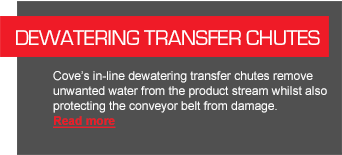 Dewatering Transfer Chutes